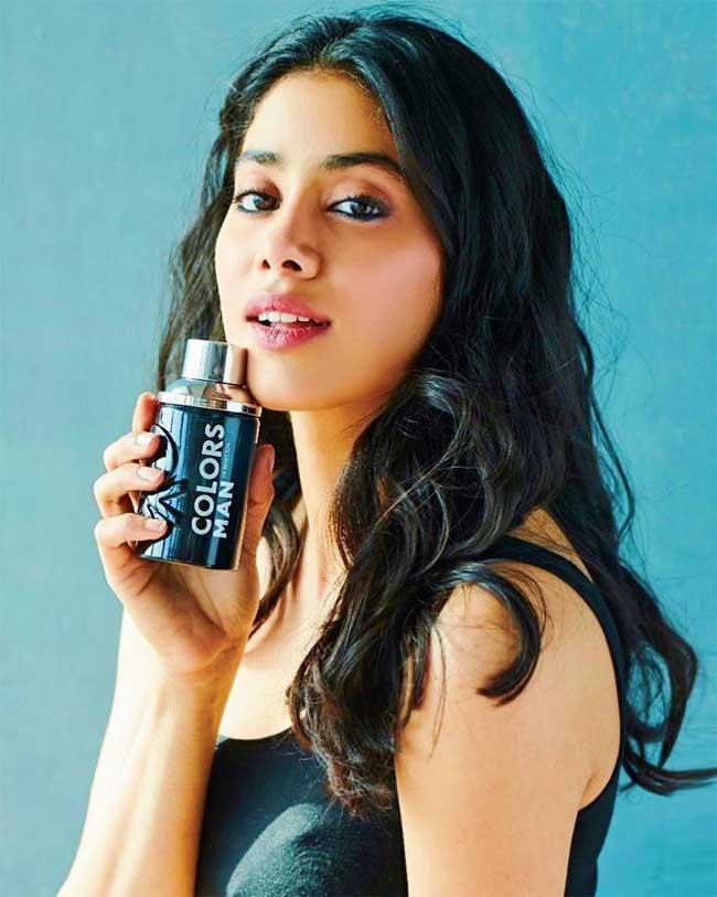 Janhvi Kapoor in brand endorsement