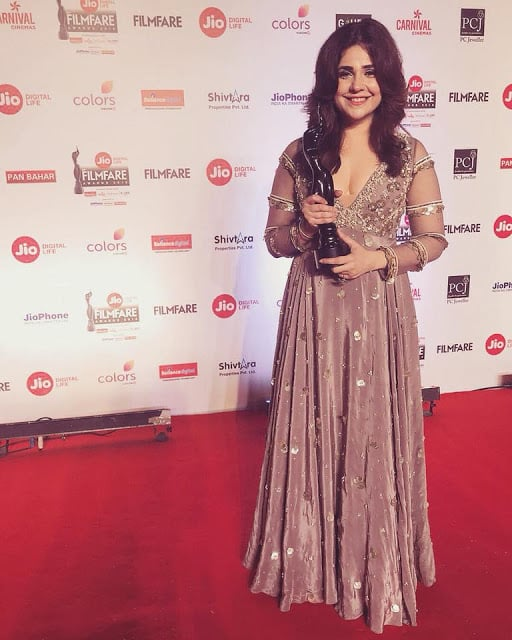 Meher Vij Filmfare Award Photo