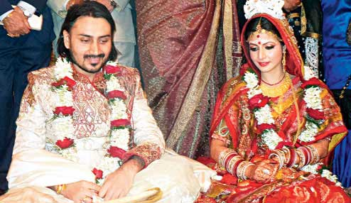 Koel Mallick Marriage Photo